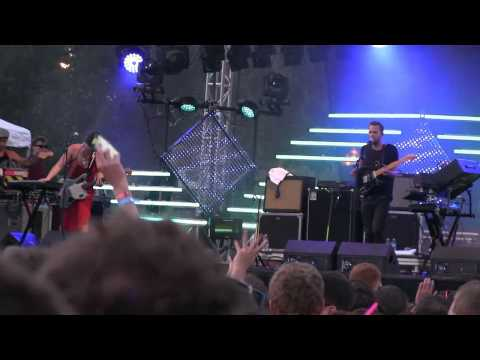 M83 Fall Daft Punk remix  720p HD  at Lollapalooza in Chicago on August 3, 2012