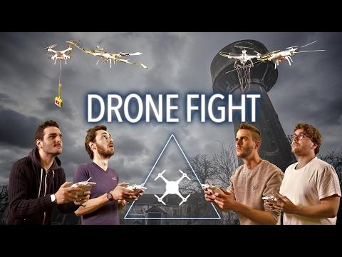 COMBAT DE DRONE !