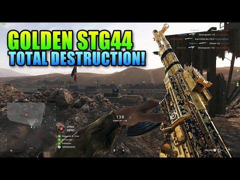 GOLDEN StG 44 Destruction! | Battlefield 5 Assault Gameplay thumbnail