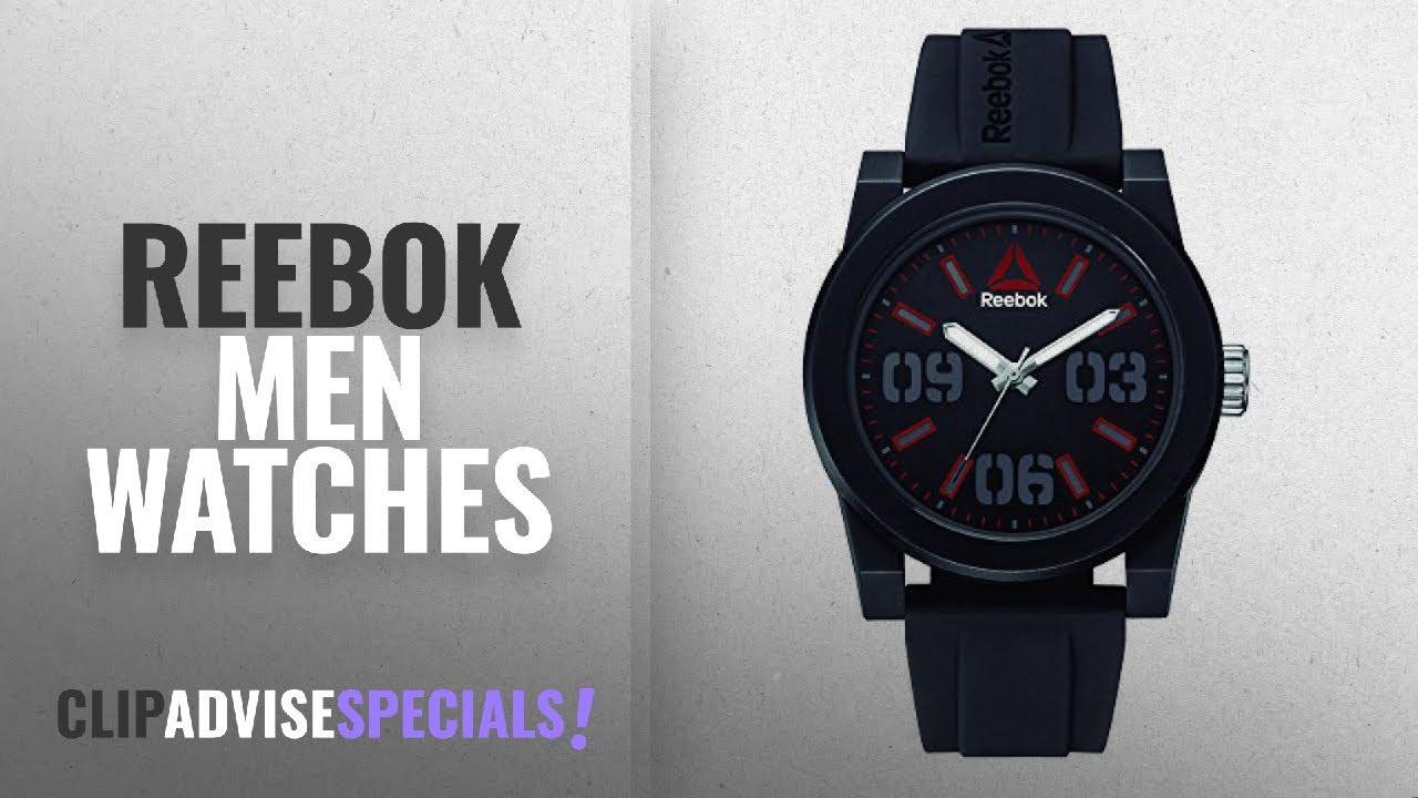 884b8aea3c47 10 Best Selling Reebok Men Watches  2018    Reebok RD-HOO-G2-PBIB-BR ...