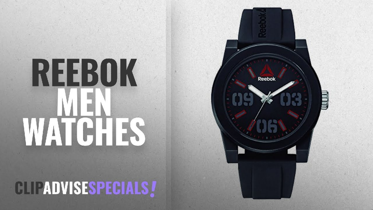 6fa03045f 10 Best Selling Reebok Men Watches  2018    Reebok RD-HOO-G2-PBIB-BR ...
