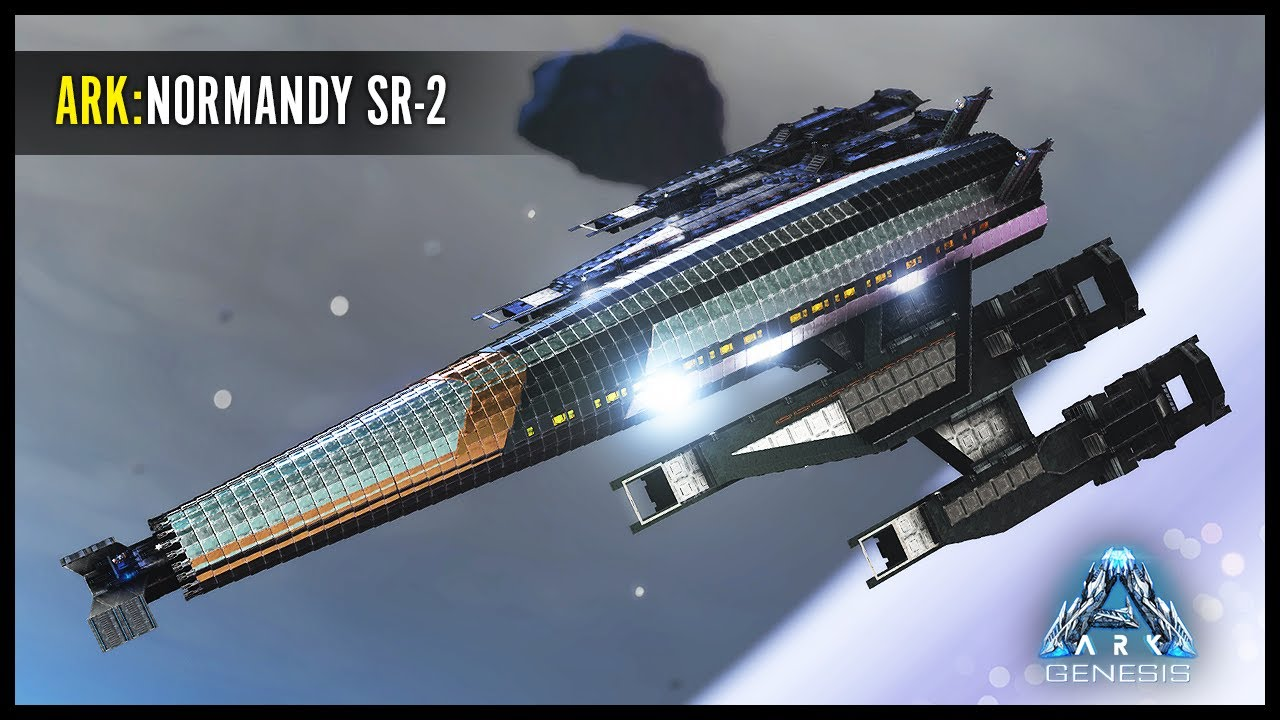ARK:Genesis - Normandy SR-2 (Mass Effect) Concept Build