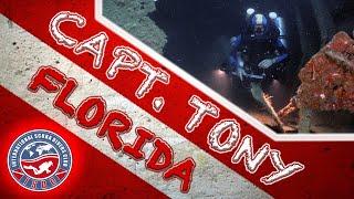Captain Tony (aka M/V Becks) Wreck Scuba Dive | Delray Beach, Florida