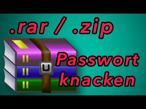 RAR Passwort Unlocker / Dateien Mit Passwort HACKEN - Mit
