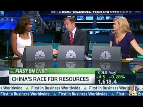 CNBC: China's Commodity Appetite Still Strong