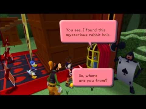 Kingdom Hearts FM [PS3] Commentary #012, Wonderland: Evidence of Alice's Innocence