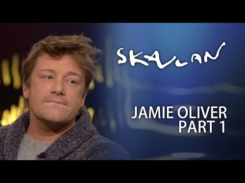 "Jamie Oliver Interview | ""I love cock books"" | Part 1 | Skavlan"