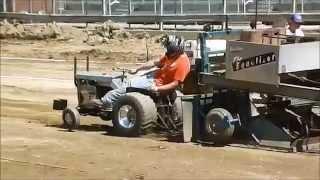 Garden Tractor Pull - Fayette County Fair