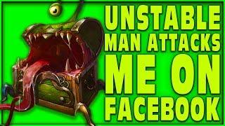 ( DRAMA ALERT ) UNSTABLE MAN ATTACKS ME ON FACEBOOK 😱