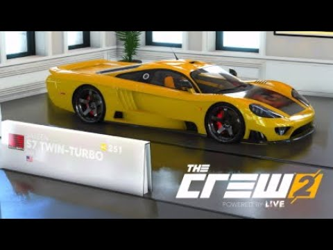 The Crew 2 Hyper Cars 2005 Saleen S7 Twin Turbo Coupe Youtube