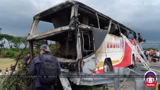 Водитель сгоревшего в июле автобуса на Тайване, возможно, совершил суицид