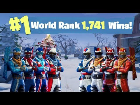 #1 World Ranked - 1,750 Solo Wins - Sponsor Goal 748/800