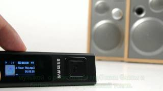 Обзор нового mp3-плеера Samsung YP-U6