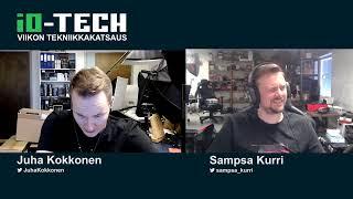 io-techin viikon tekniikkakatsaus (28/2020)