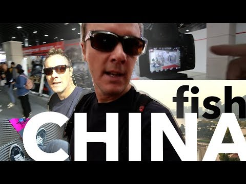 Tom Goes To The 11th China (Weihai) Fishing Gear Manufacturing Center Expo