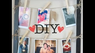 diy polaroid picture frame no polaroid camera needed