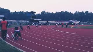 Calicut University Athletics 4*100m relay Finals