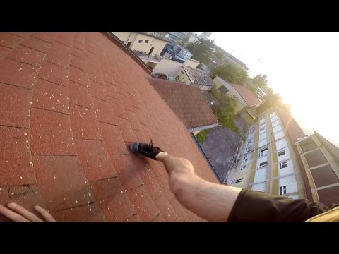 Exploring and Climbing an abandoned school - Parkour POV - GoPro Hero4 - Ros Pk