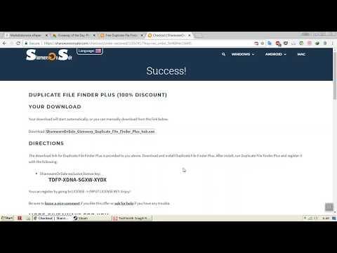Software Giveaway DUPLICATE FILE FINDER PLUS (Lifetime License)   Check Description