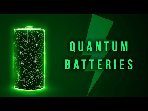 The Quantum Battery To Rule Them All - Breakthrough Solid State Battery 900 Wh/L Samsung [2020]
