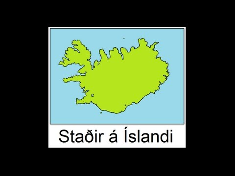 Icelandic Lesson #53: Places in Iceland Part 2 - Pronunciation