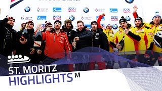 Kripps, Friedrich celebrate in St. Moritz | IBSF Official