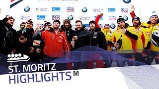 Kripps, Friedrich celebrate in St. Moritz | IBSF Official