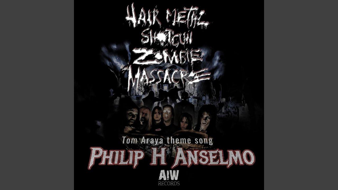 Philip H Anselmo Pens Theme Song For Tom Araya In Hair Metal