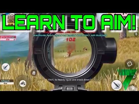 HOW TO AIM TUTORIAL! | Rules Of Survival