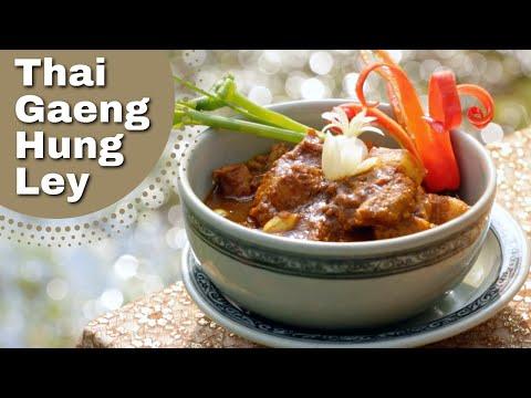 Thai Food – Pork Curry Recipe, Chiang Mai dish