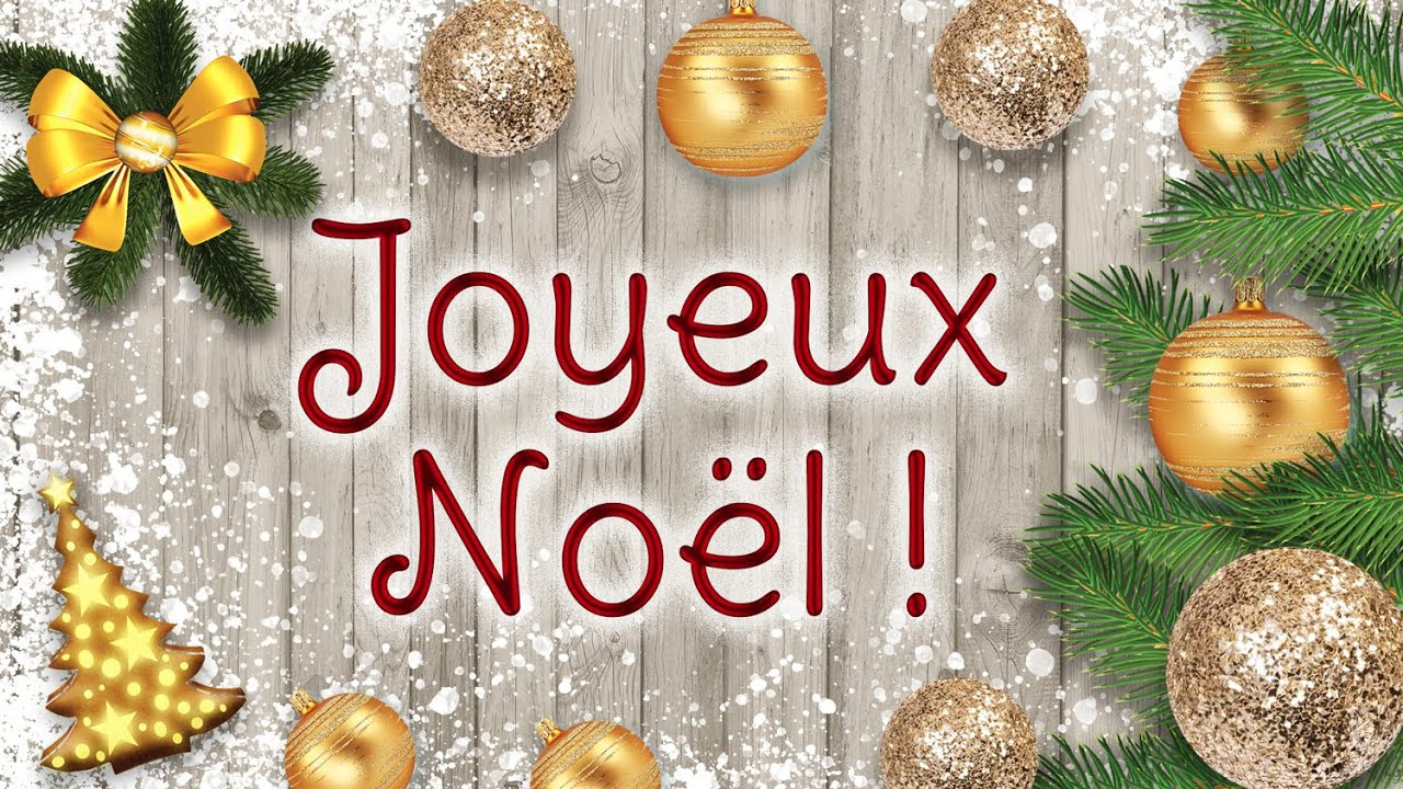Joyeux noël 2020 - Carte virtuelle de noël - YouTube