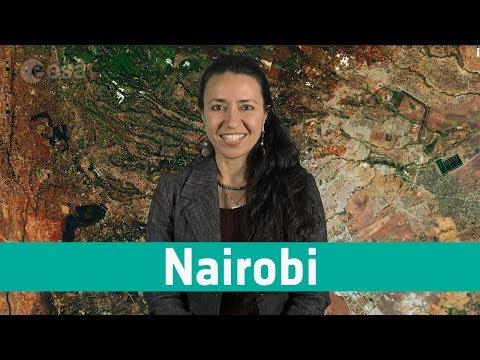 Earth from space: Nairobi