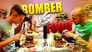 Bomber VS Food : 1,360 kg di Hamburger BIG BOSS