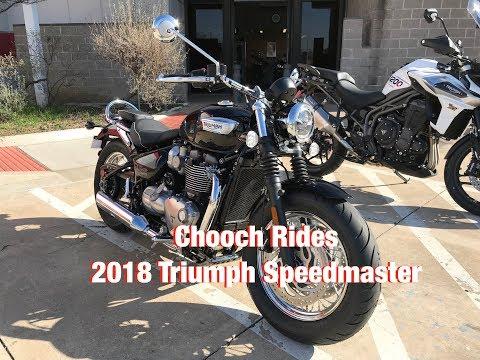 Chooch Rides - 2018 Triumph Speedmaster