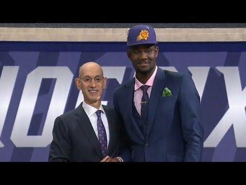1st pick 1st round - Deandre Ayton (Suns) | 2018 NBA Draft