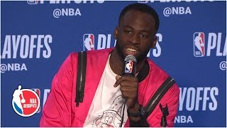 Draymond Green: I've been fouled by James Harden on a Harden 3-pointer | 2019 NBA Playoffs