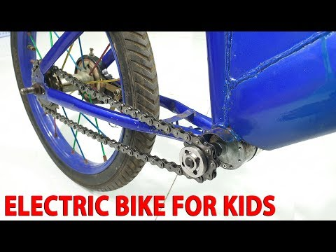 Build Electric Bike for Kids With 775 Reducer Motor en streaming