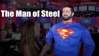 The Man of Steel in the Main Event