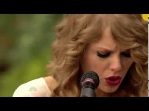 Back To December  Taylor Swift  Central Park HD