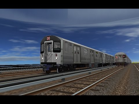 OpenBVE HD: NYC Subway Kawasaki R110A [New Release] on The 3 Express Train (11/29/16)