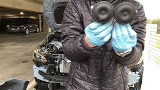 2018 Subaru Crosstrek Front Bumper Removal:Hella Horn Install