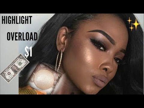 How To Highlight Your Face For ONLY $1