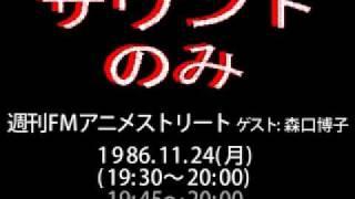 「FMアニメストリート」 活劇少女探偵団「見守りたいの」森口博子(もり...