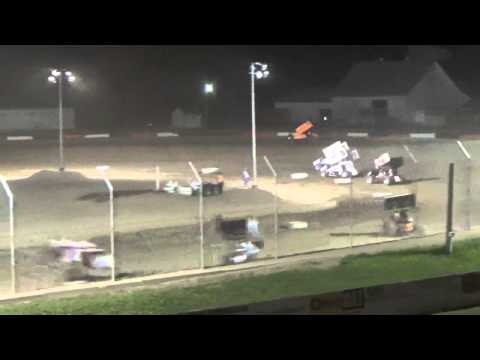 8.21.15 Attica Raceway Park 305 Sprints A Main