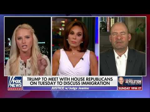 Tomi Lahren, Dem Radio Host Clash Over Immigration Policy