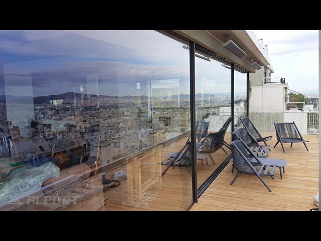 Extreme apartment renovation with frameless aluminium windows and Schüco aluminium systems.