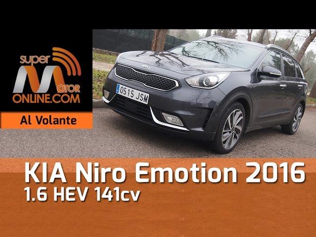 Kia Niro 2016 / Al volante / Prueba dinámica / Review / Supermotoronline.com