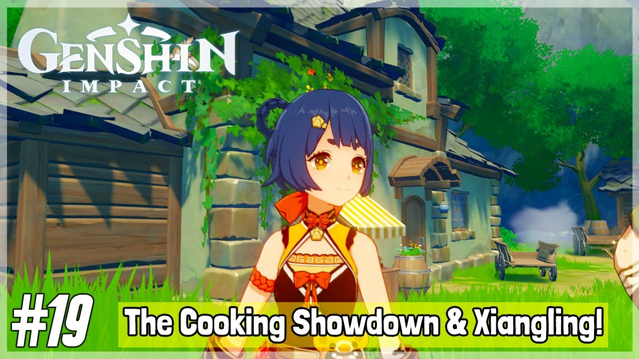 Genshin Impact Cbt3 Ios Android Gameplay Episode 19 The Cooking Showdown Xiangling Youtube