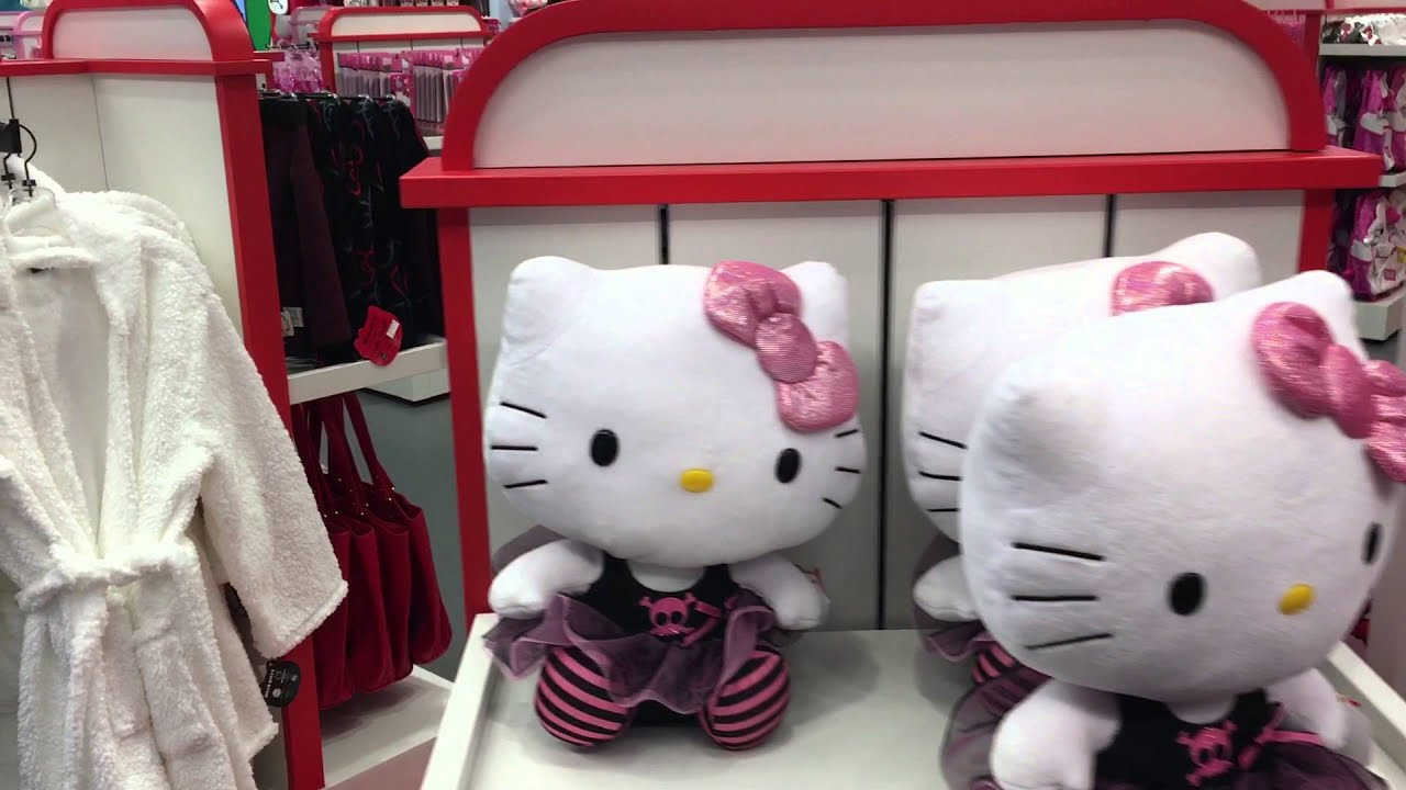 467c32c3554e Hello Kitty store at Universal Studios Florida - YouTube