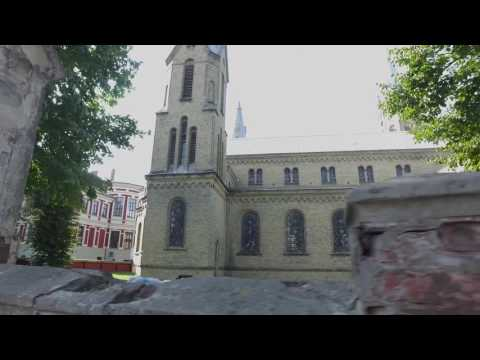 A walk around Liepaja, Latvia